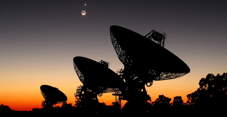 The Allen Telescope Array (Public domain)